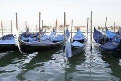 Gondels, Venetië, Italië Stock Foto's