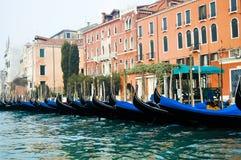 Gondels - Venetië - Italië Stock Foto's