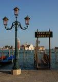 Gondelservice in Venedig Lizenzfreie Stockfotografie