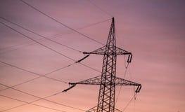 Gondelstiel des Stroms Lizenzfreies Stockbild