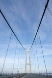 Gondelstielbrücke Stockfotografie