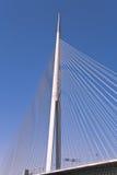 Gondelstiele überbrücken in Belgrad Stockbild
