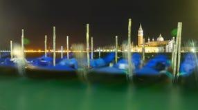 Gondloa de Venecia por la tarde Fotografía de archivo libre de regalías