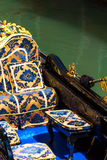 Gondol i Venedig arkivbild