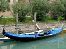 Gondol i Venedig Italien Royaltyfri Fotografi