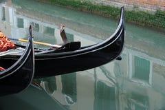Gondol venice, italy Royaltyfri Fotografi