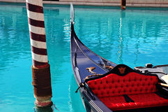 Gondola. In Venice waiting for tourists Royalty Free Stock Image