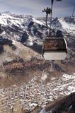 Gondola. A free gondola in the colorado mountains Royalty Free Stock Photography