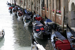 Gondola. Means of transportation - in venice, italy Royalty Free Stock Photo