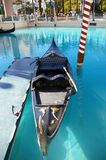 Gondola. Boat on the water in Venice (Las Vegas Royalty Free Stock Photo