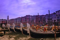 Gondola. A nice view of venezia Stock Photo