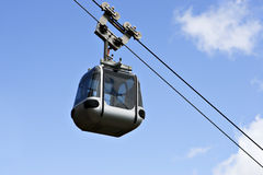 Gondola Against Blue Sky Royalty Free Stock Photos