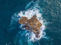 Gondola all'isola di Timang immagini stock