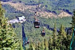 Gondola, Banff miasto, Alberta Obraz Royalty Free