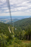 Gondola in the black forest in Germany Stock Photo