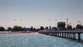 Gondola Blisko nadmorski zdjęcie wideo