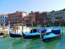 Gondola boat in Royalty Free Stock Photo