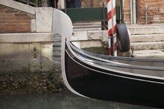 Gondola Boat on the Grand Canal, Venice Royalty Free Stock Photo