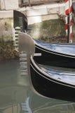 Gondola Boat on the Grand Canal, Venice Stock Photography