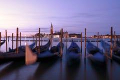 Gondola Boats in Venice Italy Royalty Free Stock Image