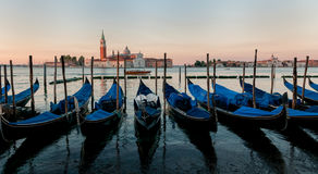 Gondola boats at Venice. Stock Images