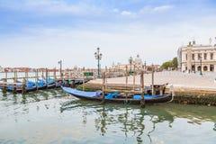 Gondola boats in Venice, Italy Stock Photos