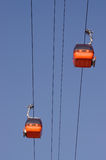 Gondola cable car Royalty Free Stock Photos