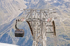 Gondola cable car Royalty Free Stock Image