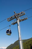 Gondola cableway Royalty Free Stock Photography