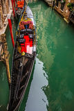 Gondola in the canal Royalty Free Stock Image