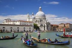 Gondola on Canal Grande Royalty Free Stock Image