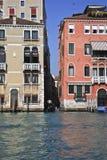 Gondola a canale di Venezia, Italia immagini stock