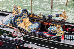 Gondola on canals of Venice Stock Photography
