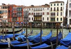 Gondola, Canals of Venice, Italy Stock Image