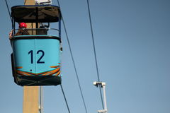Gondola chair lift Stock Images
