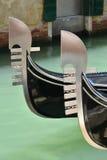Gondola characteristic bow Royalty Free Stock Photography