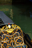 Gondola close up in Venice Royalty Free Stock Image