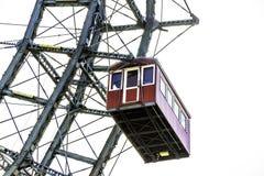 Gondola della ruota di ferris Vienna fotografie stock libere da diritti