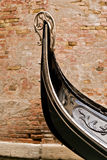 Gondola Detail in Venice Stock Photos