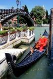 Gondola di Venezia Fotografia Stock Libera da Diritti