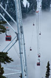 Gondola Entering Fog Stock Photos