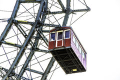 Gondola of ferris wheel Vienna royalty free stock photos