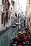 Gondola. S in venice canals Stock Photo