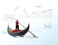 Free Gondola In Italy Stock Images - 16967104