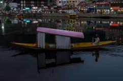 A GONDOLA THROUGH THE INDIAN PARADISE stock images