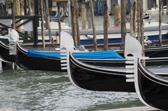 Gondola iron prow-head Stock Photography