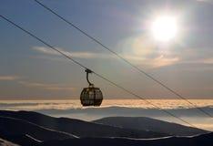 Gondola in Jasná - Slovakia Stock Photography