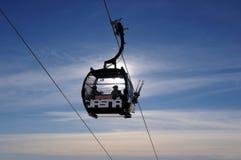 Gondola in Jasná - Slovakia Royalty Free Stock Photography