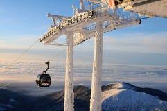 Gondola in Jasná - Slovakia Royalty Free Stock Photo