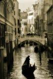 gondola kanałowa house małego Wenecji zdjęcia royalty free